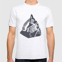 The Mountain Mens Fitted Tee Ash Grey SMALL