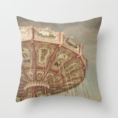 Vintage Swings Throw Pillow