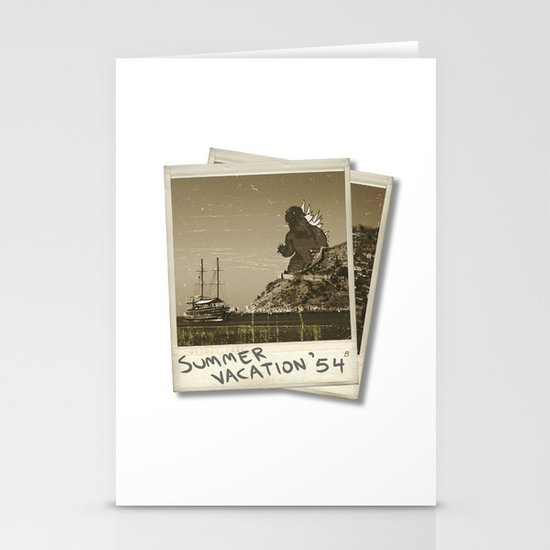 Summer of '54 Stationery Card