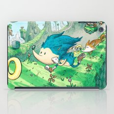 Starring Sonic and Miles 'Tails' Prower (Blue Version) iPad Case