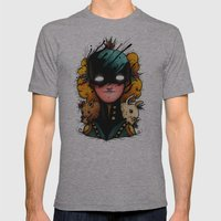 Guardians Of The Woods (… Mens Fitted Tee Athletic Grey SMALL