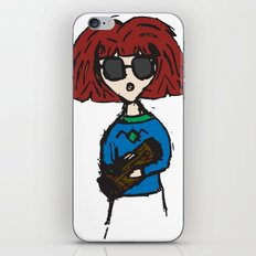 Something To Say About This (Log Lady) iPhone & iPod Skin