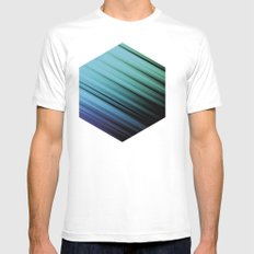Color Box by [PE] Mens Fitted Tee SMALL White