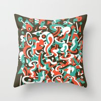 Schema 8 Throw Pillow