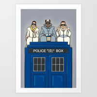 Party on, Who? Art Print