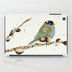 Cafe Swirly Bird 4 iPad Case