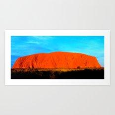 Ayers Rock Uluru Art Print
