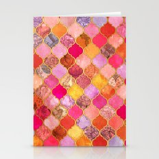 Hot Pink, Gold, Tangerin… Stationery Cards