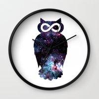 Super Cosmic Owlfinity Wall Clock