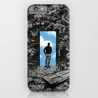 iPhone & iPod Case featuring The Optimist by rob dobi