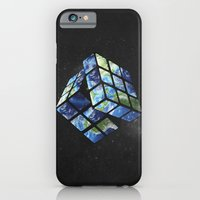 rubik's earth iPhone 6 Slim Case
