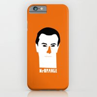 iPhone & iPod Case featuring Mr Orange by quibe