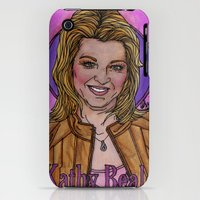 iPhone Cases featuring Kathy by Easties Across the Pond