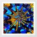 trans fusion ray Art Print