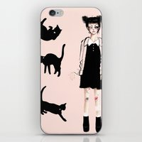 Augustine And Cats iPhone & iPod Skin