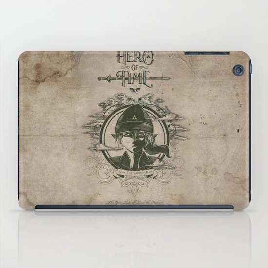 Legend of Zelda Link the Hero of Time Vintage Book Cover iPad Case