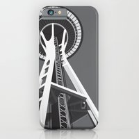 Space Needle iPhone 6 Slim Case