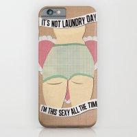 Laundry Daze iPhone 6 Slim Case