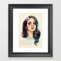 I've Got A War In My Min… Framed Art Print