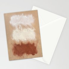Rothko Inspired Spiced Berry Canyon Dusk 001 Stationery Cards