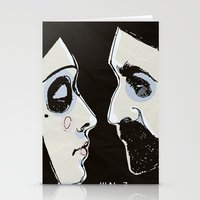 Two People Stationery Cards