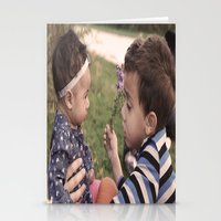 Brother And Sisterly Lov… Stationery Cards