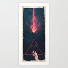 Expelliarmus Art Print