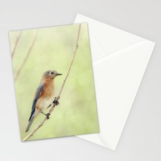 Perched On A Frail Branch Stationery Cards