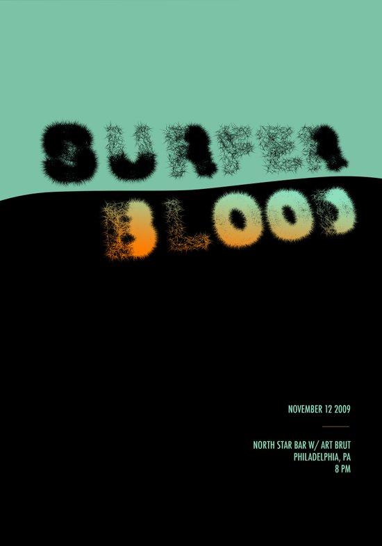 Surfer Blood Art Print