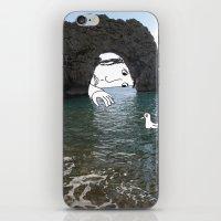 Durdle Door Man iPhone & iPod Skin