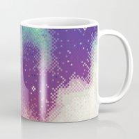 Rainbow Nebula (8bit) Mug