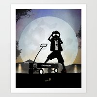 McFly Kid Art Print