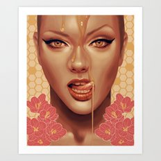 Sweet Like Honey Art Print