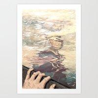 Cloudstreet Illustration Art Print