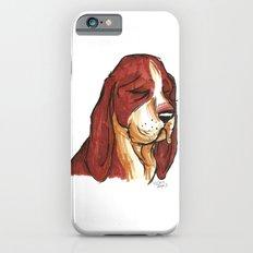 Brush Breeds-Basset Hound iPhone 6 Slim Case