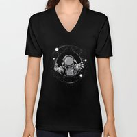 Black Hole Unisex V-Neck