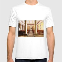 church Mens Fitted Tee White SMALL