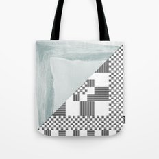 waves/grid #8 Tote Bag