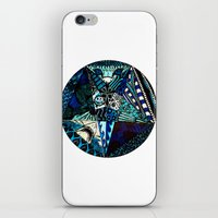 Blue Toned Pentagram iPhone & iPod Skin