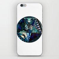 Blue Toned Pentagram iPhone & iPod Skin