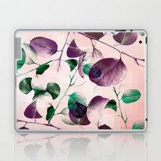 Spiral Eucalyptus Leaves Laptop & iPad Skin