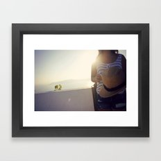 etheral moment Framed Art Print