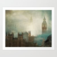 London Surreal Art Print