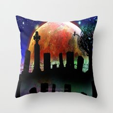 GRAVEYARD – 071 Throw Pillow