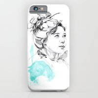 iPhone & iPod Case featuring Bird Nesting by Jessica Feral