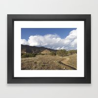 Pumps, Bumps, and Rollers Framed Art Print