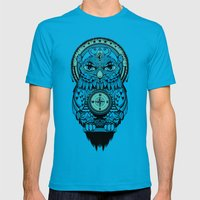 Guardian Of The Lost Mens Fitted Tee Teal SMALL