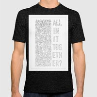 The Masses Against The Classes (Alt) Mens Fitted Tee Tri-Black SMALL
