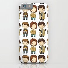 Chibi Dean Sam Castiel Supernatural iPhone 6 Slim Case