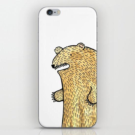 humble bear iPhone & iPod Skin